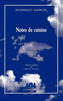 Couverture de Notes de cuisine